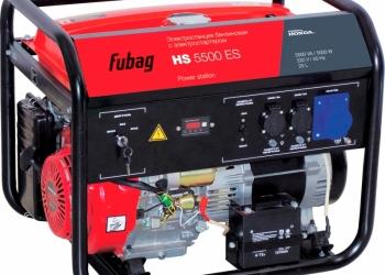 Бензогенератор Fubag HS 5500 ES