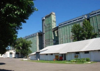Элеватор в Ростовской области.