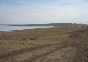 Продаётся земельный участок на берегу озера Белё