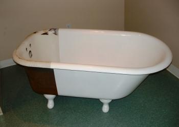 Реставрация ванн. Жидкий акрил ванна