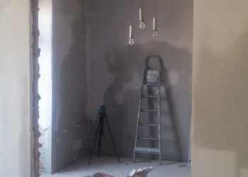 Выравнивание стен.