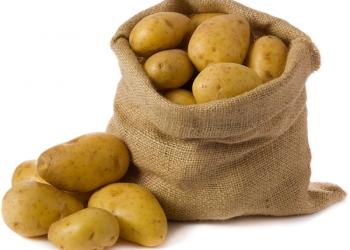 Картошка от мешка