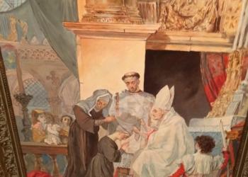 Картина Карл Б рюлов Посвещение в монахини