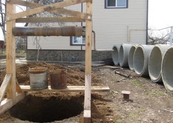 Копка, чистка ремонт колодцев, траншеи, канализации, дренаж!