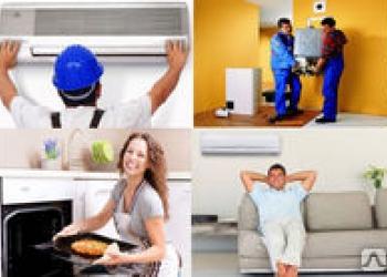 Установка и сервисное обслуживание кондиционеров