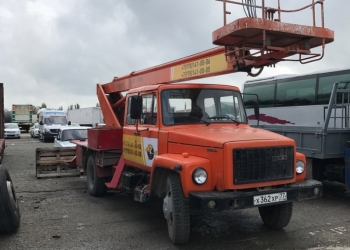 Автовышка ГАЗ АПТ-18М (ГАЗ-3309)