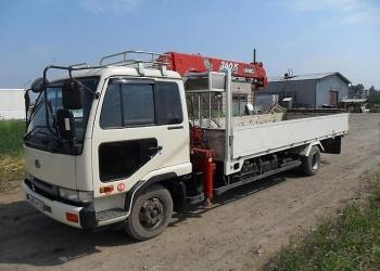 Манипулятор грузовой Nissan Diesel, гр/п 5 т, стрела 3 т (вылет 8-12 м)