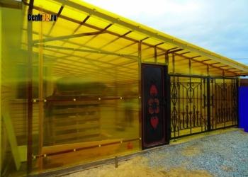 Ремонт теплиц  замена поликарбоната, поврежденных дуг Тюмень