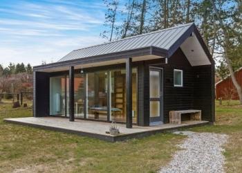 Строительство модульных скандинавских домов.