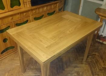 Резной дубовый стол ручной работы
