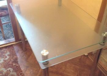Стол стеклянный новый