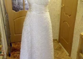 Платье свадебное, р. 46-48