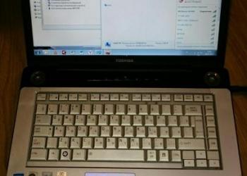 Toshiba satellite A200 Абсолютно рабочий ноутбук