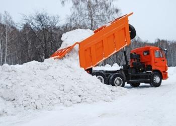 Уборка ивывоз снега СПб