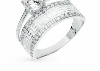 Sokolov серебряное кольцо Ag925
