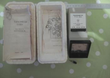 Советский электронный тахометр ТЭ30