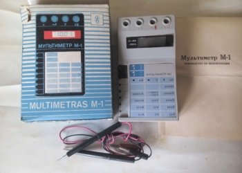 Мультиметр М1