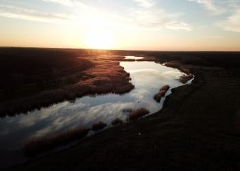 Земельный участок с каскадом прудов