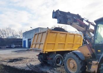 Аренда / услуги трактора экскаватора-погрузчика и самосвала в Можайске