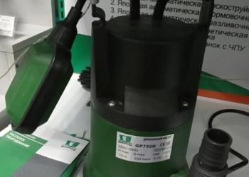 "Насос дренажный, GP750N, 750Вт 200л/мин. Hmax=10м, резьба D1 1/2"", 5,7 кг, PUMPM"