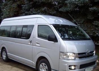 пассажирские перевозки автобусами от 6 до 50 мест