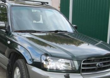 Продаётся Subaru,Forester 2005г. тёмно зеленого цвета с МКП в ид-м раб-ч сост-и