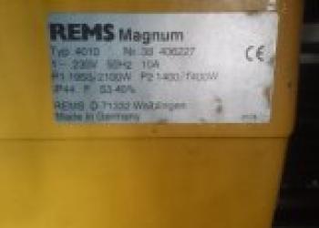Резьбонарезной станок REMS Magnum 4010