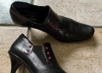 туфли (ботинки) женские Rossini нат.кожа 36 р.