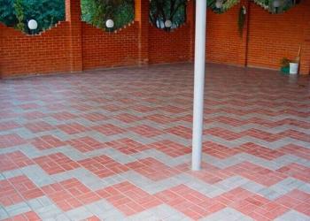 Укладка тротуарной плитки под ключ в Лобне и пригороде