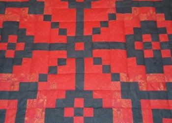 Лоскутное одеяло-покрывало
