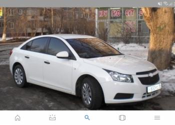 Chevrolet Cruze, 2011, стоит газ, не битая. Автомат. Цвет белый