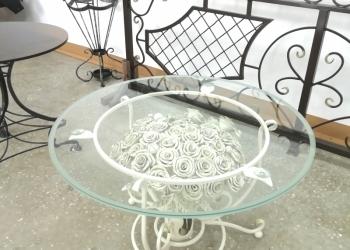 Столы круглые с закаленным стеклом