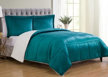 Двухцветный постельный комплект от поставщика