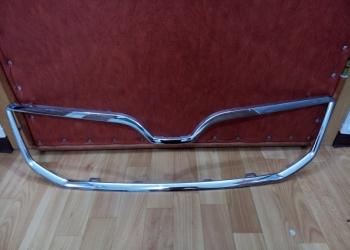 Окантовка решетки радиатора Octavia A7 хром