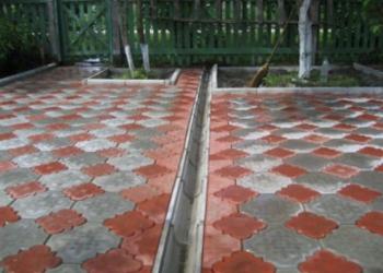 Тротуарная плитка и укладка