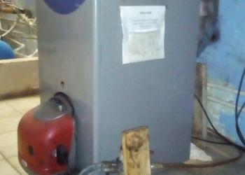Отопительный котел с дизельной горелкой