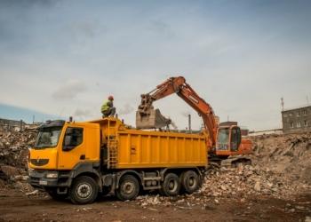 Утилизация строительного и бытового мусора