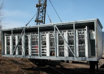 Утепленные блочно-модульные подстанции 2КТПНУ, мощностью до 2500 кВА