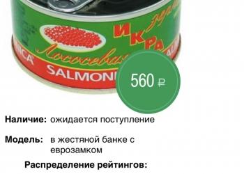 ИКРА нерки Salmonica Камчатка