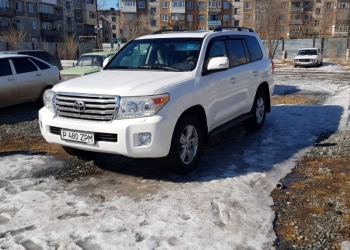Toyota Land Cruiser200, 2012