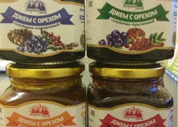 Байкальский джем из таежных ягод с кедровым орехом