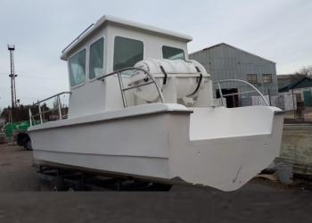 Лодка для ловли Камбалы и другой рыбы лебёдкой