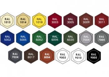 Кровельный саморез дерево-металл 4,8х29 с ЭПДМ-прокладкой, любой цвет по RAL