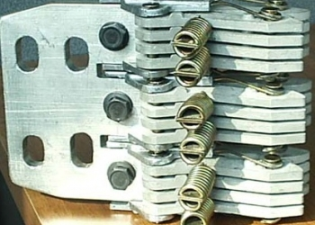 Втычные контакты, ножи, шины для  АВМ , АВ2М , Электрон