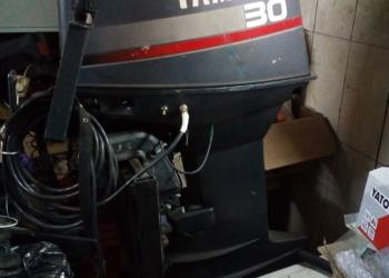 продам мото лодку НЕПТУН-2 с мотором и прицепом