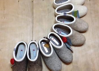 Валенки Домашняя обувь из натуральной шерсти