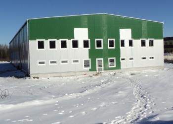 Производственный корпус с АБК