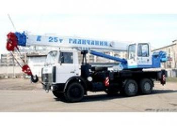 Продается автокран 25т. (МАЗ-6312) Евро-4