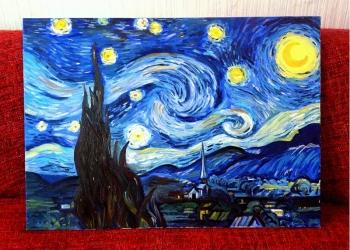 """""""Звездная ночь"""" (копия) Ван Гог"""