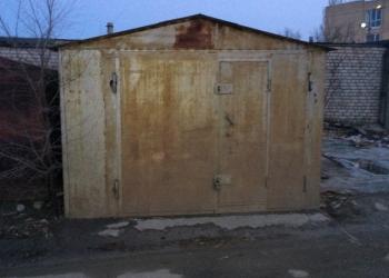 неохраняемый металлический гараж 24 м²